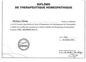 Certificat CEDH Franta
