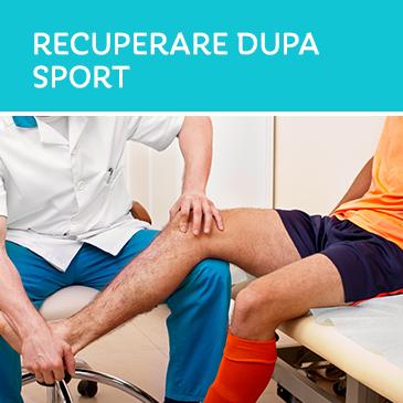 Recuperare dupa sport
